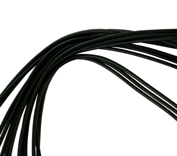 5 line servos wire black (1 m)